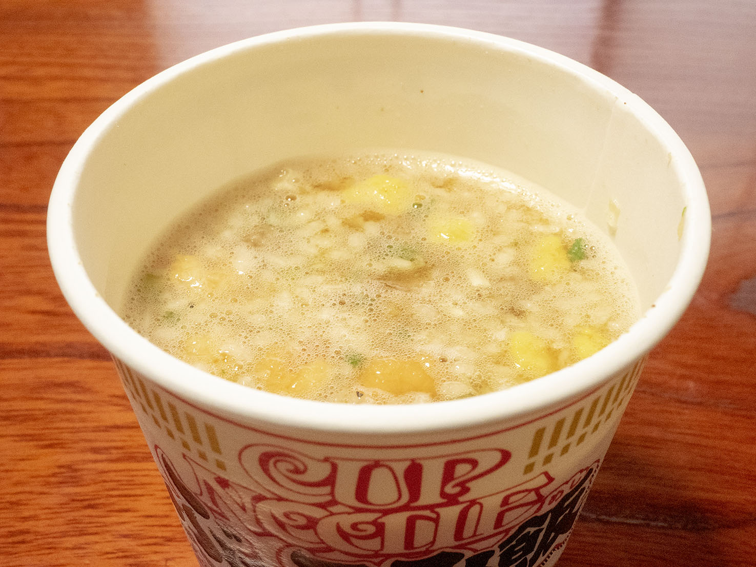 CUP NOODLE ぶっこみ飯